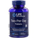LIFE EXTENSION TWO-PER-DAY TABLETS 120T MULTI-VIT