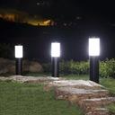 Lampa ogrodowa stojąca słupek do LED E27 65cm Średnica/szerokość 7.6 cm