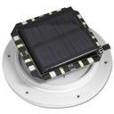 LAMPA KULA OGRODOWA LED SOLARNA RGB 30cm PILOT Liczba punktów światła 1