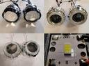 Soczewki BI-LED 33W Dual Ring Osłona DRL Dzienne ! Producent części Inny