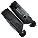 Nóż ratowniczy - bezpieczeństwa 6w1 czarny Typ składane