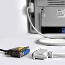 Kabel Adapter USB DB25F Port LPT Równoległy Drukar EAN 8595247903143