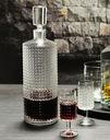 Komplet zestaw do likieru wódki KROSNO Vintage 6+1 Marka Krosno Glass S. A. | Krośnieńskie Huty Szkła | Szkło-Krosno | Na prezent Urodziny Imieniny