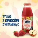 BOBO FRUT nektar jabłko truskawka aronia 6x300ml Wiek podawania od 6 miesiąca