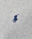 Koszulka szara POLO RALPH LAUREN (T-SHIRT) M Kolor szary