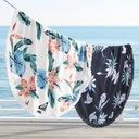 RĘCZNIK Okrągły PLAŻOWY KĄPIELOWY wzory LATO Kod produktu Ręcznik plażowy okrągły