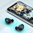 SŁUCHAWKI BEZPRZEWODOWE WODOODPORNE Bluetooth V5.1 Czas czuwania 120 h