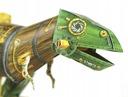 Model do składania Dinozaur maszyna z papieru Materiał Karton Papier