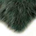 Poduszka dekoracyjna Włochacz 40x40 zielony suwak Rodzaj dekoracyjna