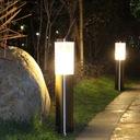 LAMPA ogrodowa STOJĄCA 45cm SŁUPEK z GNIAZDO 230V Zasilanie sieciowe