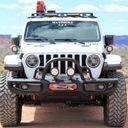 Uchwyt mocowanie 2xLED Maximus3 Jeep Wrangler JL Kształt płaski