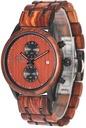 Zegarek męski drewniany Giacomo Design GD481 NEW! Typ naręczny