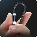 KABEL LED ŚWIECĄCY 3w1 DO ŁADOWANIA TELEFONU Waga (z opakowaniem) 0.2 kg