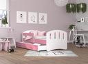 Łóżko HAPPY 160x80 + szuflada + materac Szerokość 85 cm
