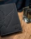 Czarny portfel męski skórzany Always Wild czaszka Marka Always Wild