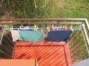Suszarka na pranie balkon | KOMPLET DŁUGICH ŚRUB Rodzaj balkonowa na bieliznę inna