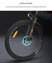 Eleglide F1 MTB Rower elektryczny składany 10.4AH Rodzaj przerzutki wewnętrzna (w piaście)