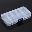 Organizer pojemnik pudełko na śrubki 10 przegródek