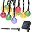 Girlanda solarna LED lampki ogrodowe kulki solarne Marka JL200001