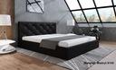 Łóżko Tapicerowane Stelaż 180 pojemnik BOB LIMA 4 Typ łóżka z zagłówkiem ze stelażem pojemnik na pościel otwierany do góry