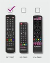 Pilot TV KORBOX RC-Twig do dekoderów KORBOX Kod producenta RC-TWIG