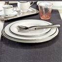 VILLA ITALIA HATTY PLATIN Serwis obiadowy + kawowy Zawartość zestawu Talerz obiadowy Talerz głęboki Talerz deserowy Filiżanka Spodek pod filiżankę Waza