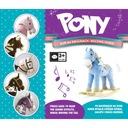 Konik na biegunach Milly Mally Koń Pony Gray Dot Wiek dziecka 3 lata +