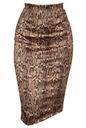 M TUBA WĘŻOWA zamsz spódnica midi dopasowana 38 Waga (z opakowaniem) 0.3 kg