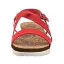Buty Damskie Sandały Big Star AA274372 Czerwone Zapięcie sprzączka