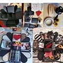 EXPLOSION BOX - Pomysł na PREZENT dla Niej Niego Kolor czerń
