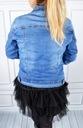 Katana Kurtka Jeans Klasyczna Jeansowa Plus Size Rozmiar XL
