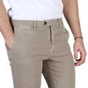 Spodnie męskie TOMMY HILFIGER MW0MW03443 L32 r. 40 Kolor brązowy, beżowy