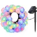 Girlandy Lampki Rose Ogrodowe Solarne 30 LED 6.5m