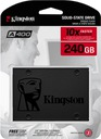 Dysk wewnętrzny SSD Kingston 240 GB SA400S37/240G EAN 0740617261219