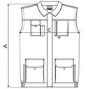 Kamizelka robocza XXL granatowy WX8 rimeck ADLER Kod producenta WOODY WX8