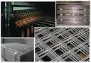 Сетка сталь армирования бетона, приваривается 4мм 120x240