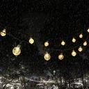 Lampki Solarne Ogrodowe Żarówka Lampa 50 LED 9.5 M EAN 053742579310