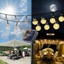 Lampki Solarne Ogrodowe Żarówka Lampa 50 LED 9.5 M Cechy dodatkowe wodoodporność zasilanie energią słoneczną
