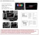 RADIO GPS ANDROID 9 AUDI A3 2003-2012 WIFI BT 32GB Rodzaje odtwarzanych nośników USB