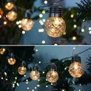 Girlandy Lampki Ogrodowe Solarne LED 10szt Żarówki Informacje dodatkowe czujnik zmierzchu lampa solarna
