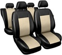 Pokrowce na fotele samochodowe Comfort Skórzane