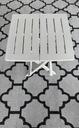 Stolik składany na balkon / ogród / kemping Materiał dominujący tworzywo sztuczne