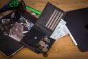 BETLEWSKI Portfel męski skórzany RFID cienki mały Płeć Produkt męski