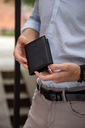 Skórzany portfel męski suwak BETLEWSKI RFID duży EAN 5907538212668