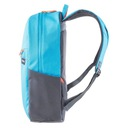 Plecak szkolny młodzieżowy sportowy miejski 18L Kolor dominujący niebieski