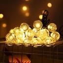Lampki Solarne Ogrodowe Żarówka Lampa 50 LED 9.5 M EAN 0791390064931