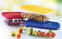 KOMPLET 5 POJEMNIKÓW NA ŻYWNOŚĆ LUNCH BOX SZCZELNE Waga (z opakowaniem) 1 kg