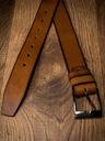 Badura brązowy pasek skórzany do spodni dla niego Model PBJ-05-C-115-8952 TA