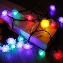 Girlandy Lampki Rose Ogrodowe Solarne 30 LED 6.5m Liczba punktów światła 21 - 30