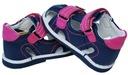 Sandałki 100% skóra, obcas THOMASA r 19 / 12cm Marka inna